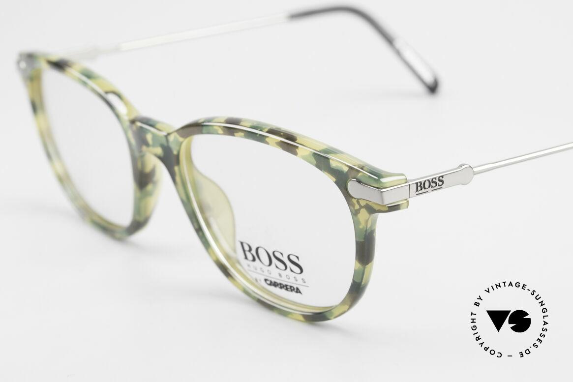 BOSS 5115 Vintage Brille In Tarnfarbe, ungetragen (wie alle unsere VINTAGE BOSS Brillen), Passend für Herren