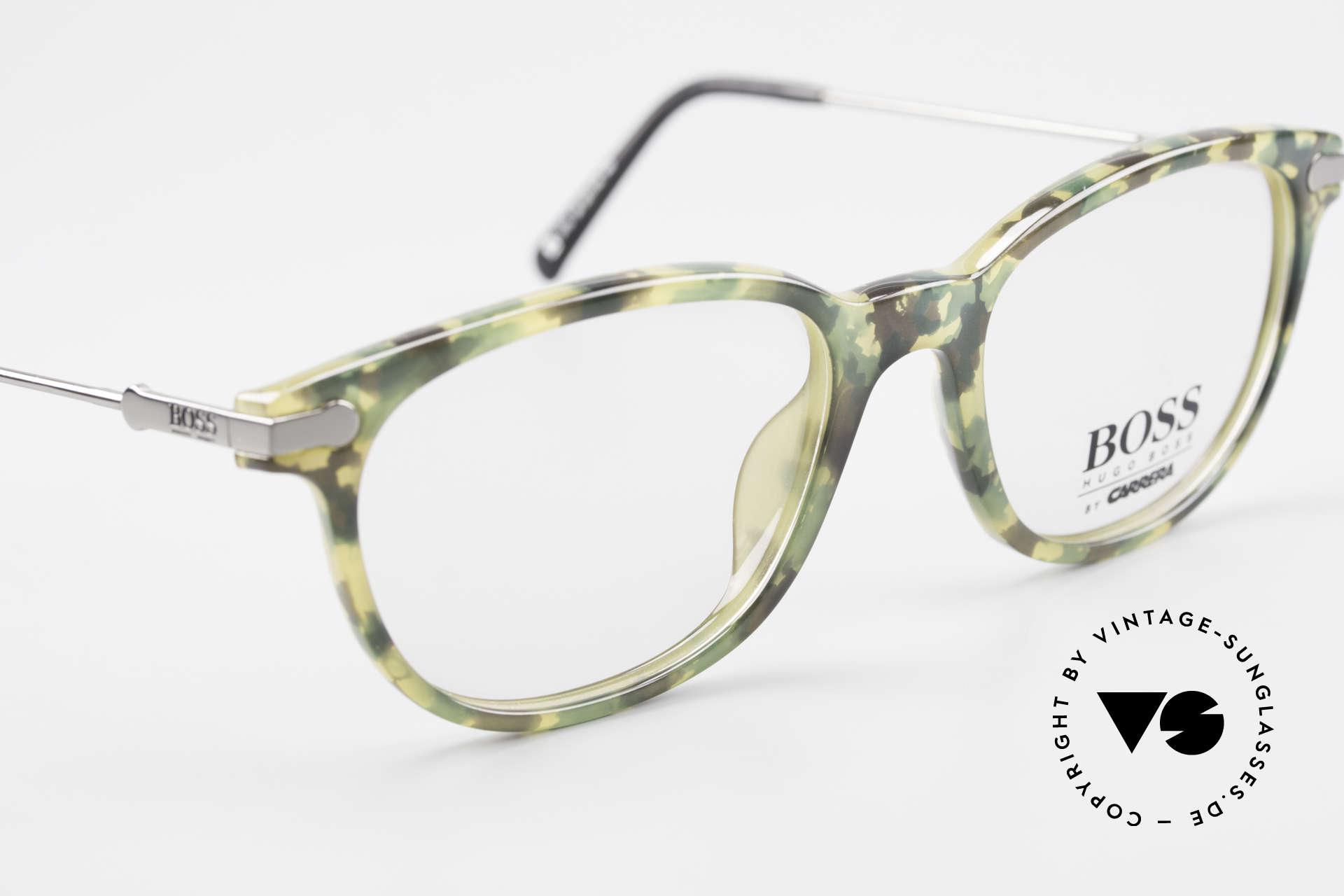 BOSS 5115 Vintage Brille In Tarnfarbe, KEINE RETRObrille, ein ca. 25 Jahre altes ORIGINAL, Passend für Herren