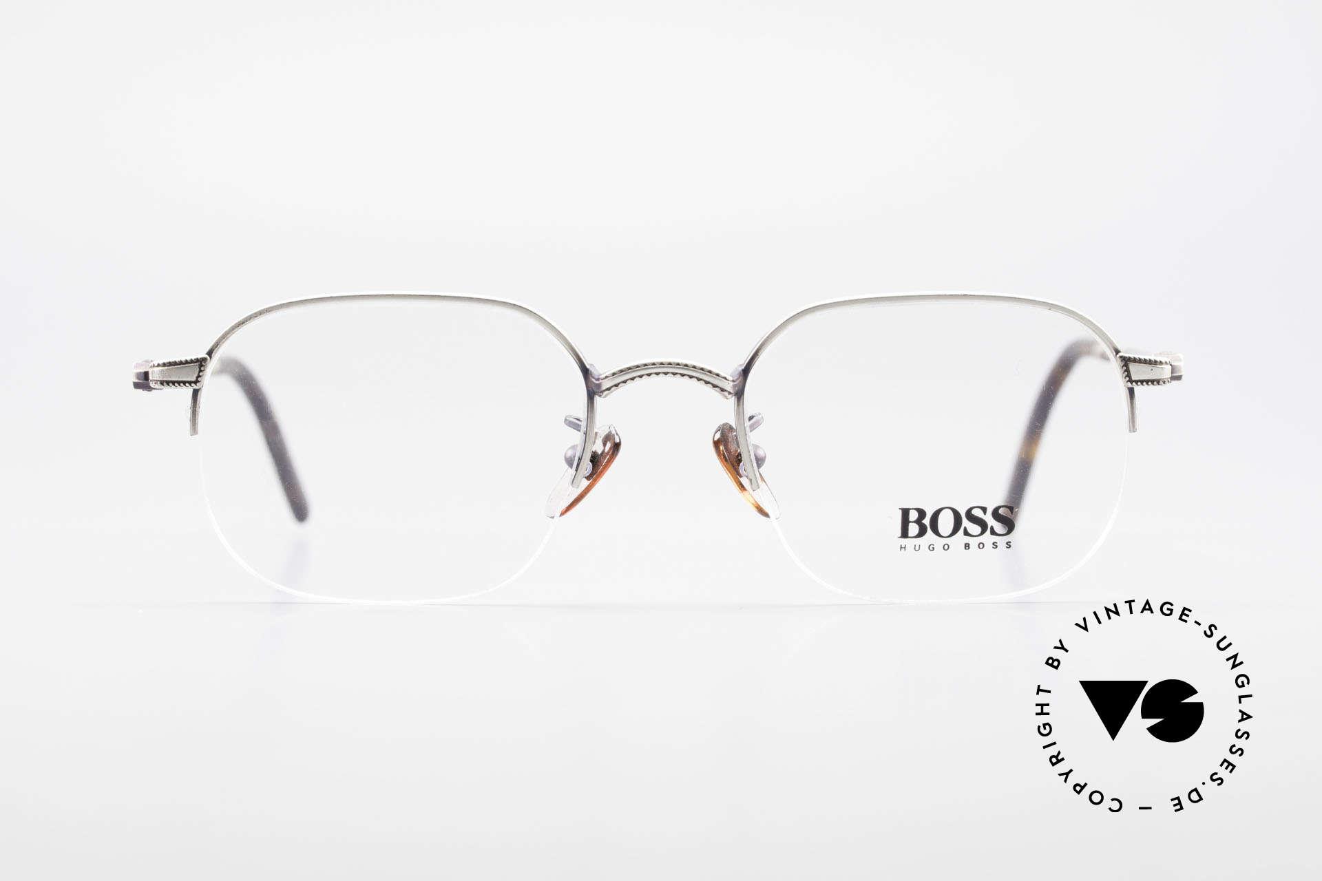 BOSS 4712 Klassische Herrenbrille 90er, großartiges ORIGINAL in absoluter Spitzen-Qualität, Passend für Herren