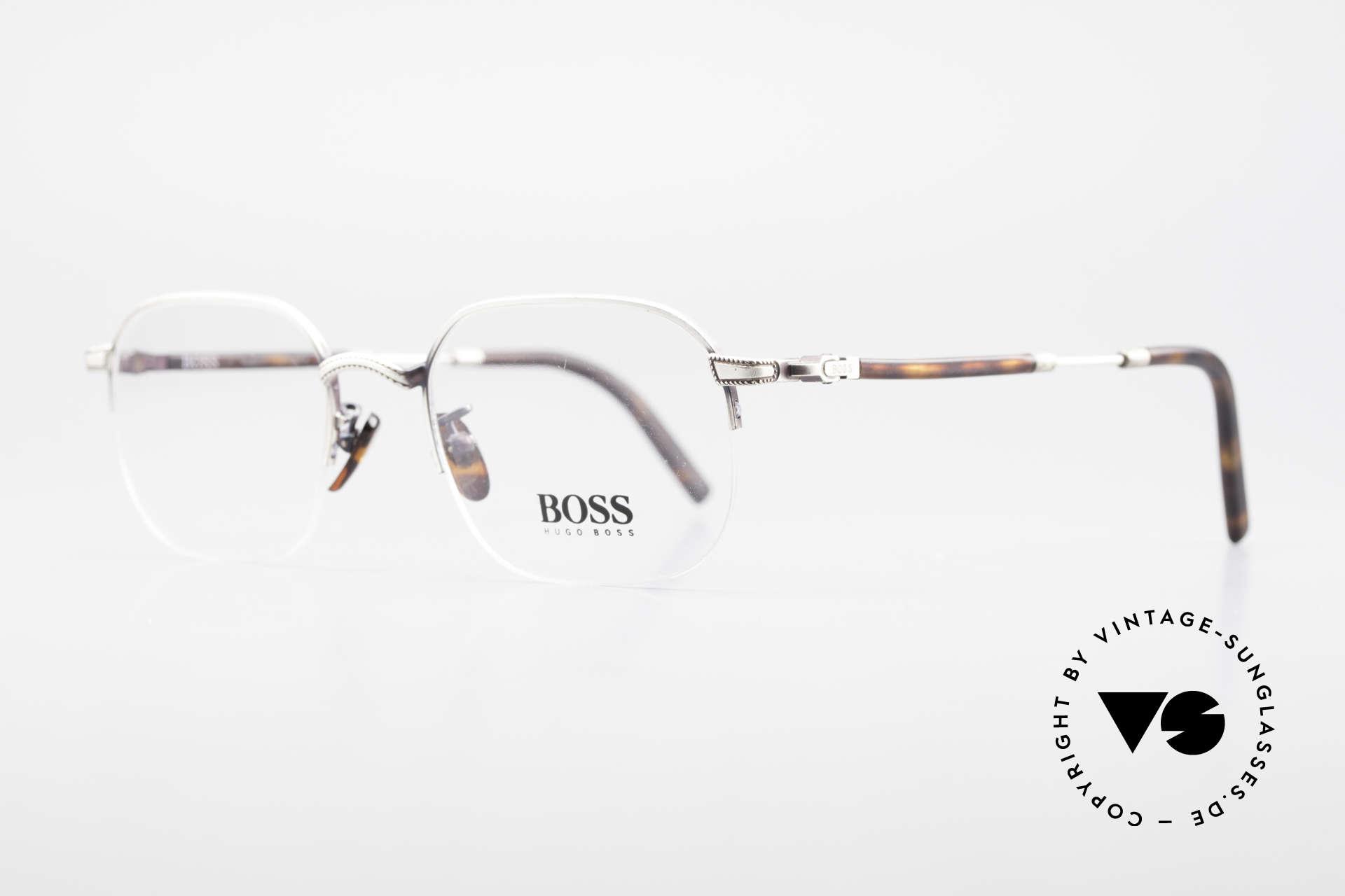 BOSS 4712 Klassische Herrenbrille 90er, eines der ersten Boss Modelle aus Italien; späte 90er, Passend für Herren