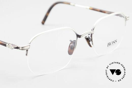 BOSS 4712 Klassische Herrenbrille 90er, KEINE RetroBrille; sondern ein echter DesignKlassiker, Passend für Herren