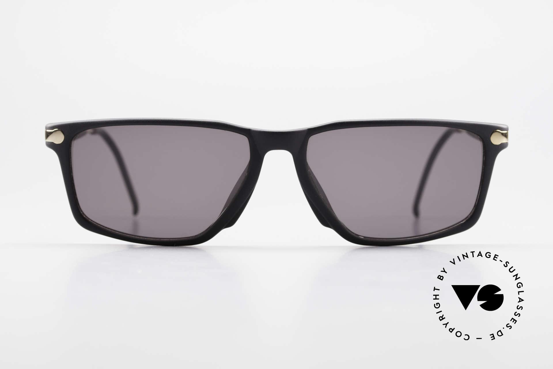 BOSS 5174 Vintage Sonnenbrille Eckig, Kooperation von Boss & Carrera in den 90er Jahren, Passend für Herren