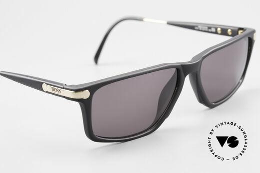 BOSS 5174 Vintage Sonnenbrille Eckig, ungetragenes Designerstück & KEINE RETROBRILLE, Passend für Herren