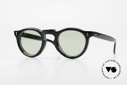 Lesca Panto 8mm 60er Panto Brille Frankreich Details