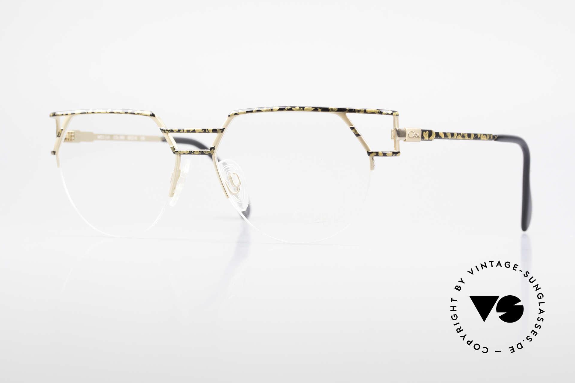 Cazal 248 90er No Retro Originalbrille, markante Cazal Designerbrille der frühen 90er Jahre, Passend für Herren und Damen