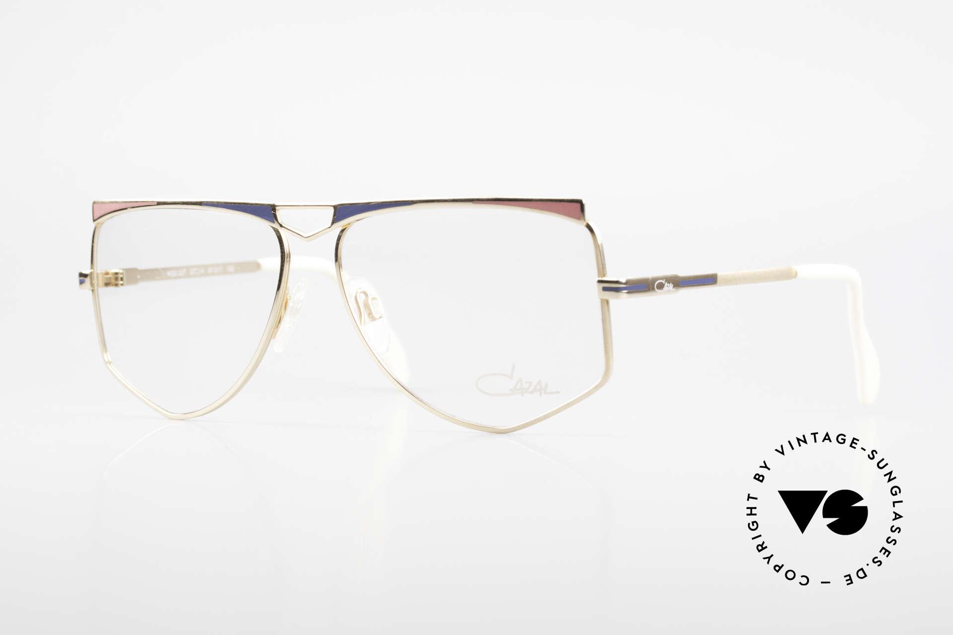 Cazal 227 Echt Alte 80er Vintage Brille, tolle Damen-Designerbrille von Cari Zalloni (CAZAL), Passend für Damen