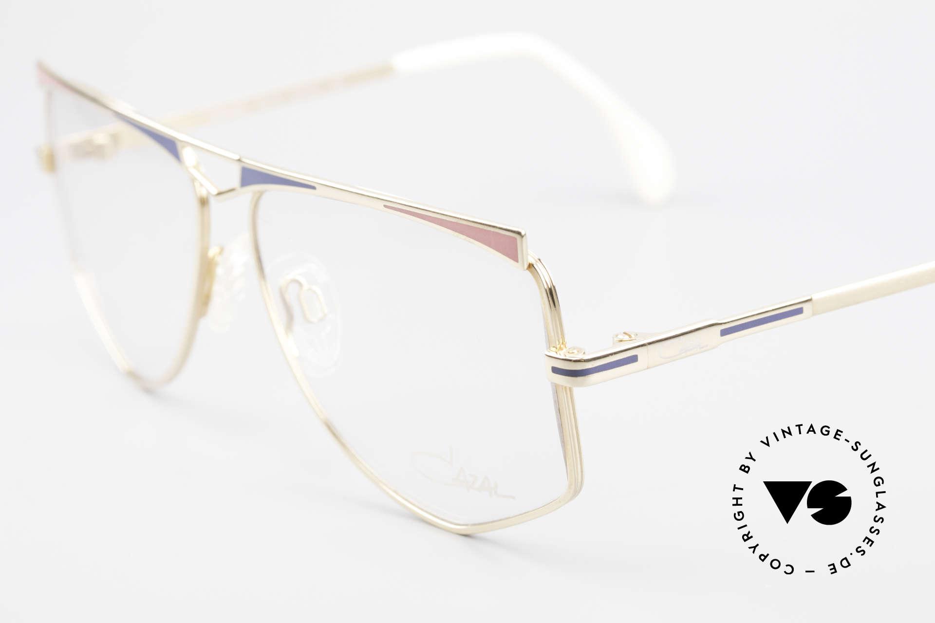 Cazal 227 Echt Alte 80er Vintage Brille, ungetragen (wie alle unsere Cazal vintage ORIGINALE, Passend für Damen