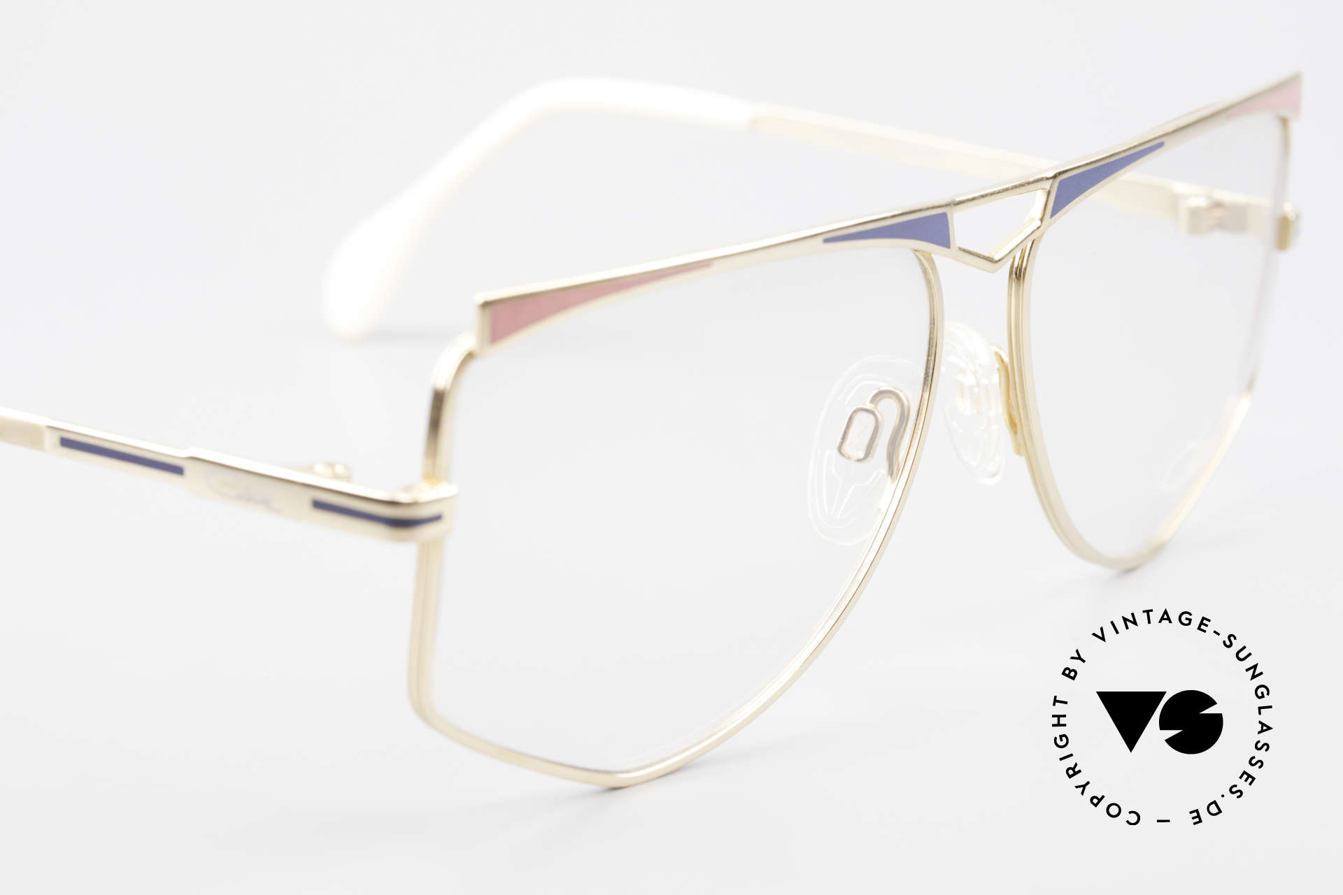 Cazal 227 Echt Alte 80er Vintage Brille, die Fassung ist für optische (Sonnen)-Gläser geeignet, Passend für Damen