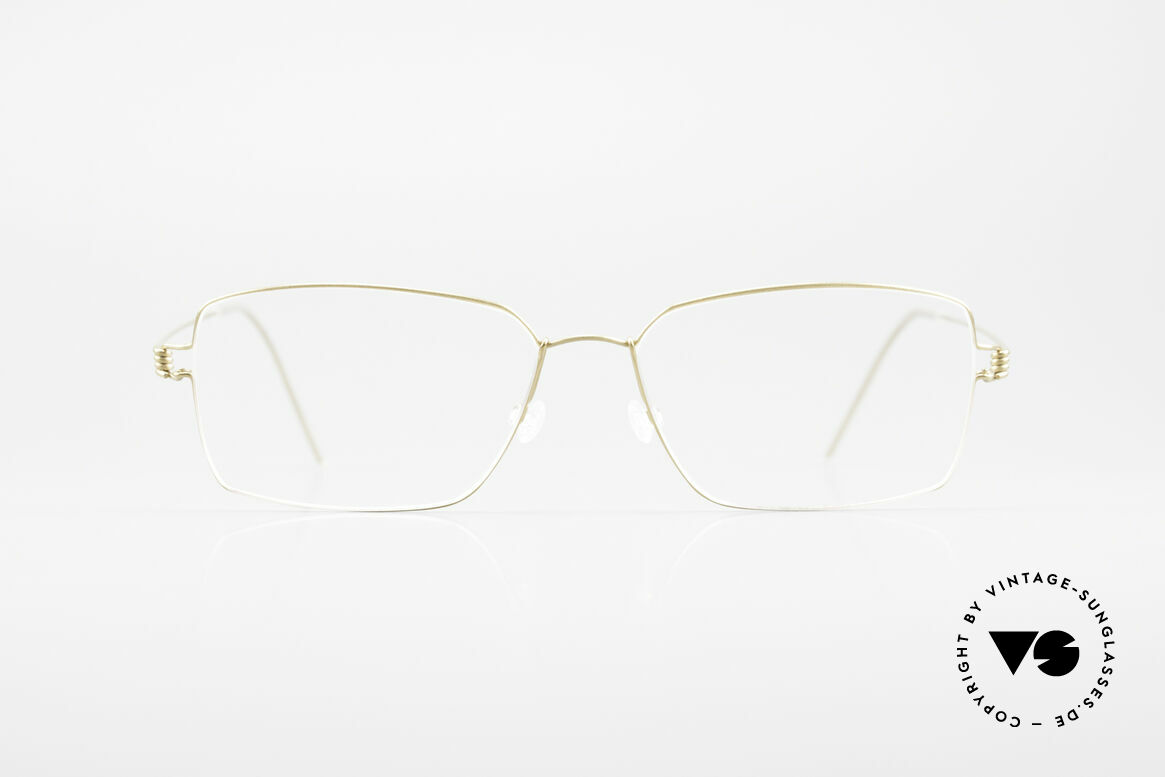 Lindberg Rainer Air Titan Rim Titanium Fassung Herren, LINDBERG Air Titanium Rim Brille in Größe 55-16, 145, Passend für Herren
