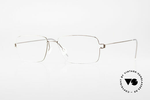 Lindberg Nikolaj Air Titan Rim High-End Titanium Herrenbrille Details