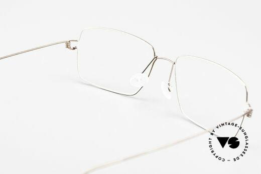 Lindberg Nikolaj Air Titan Rim High-End Titanium Herrenbrille, eleganter Rahmen ohne Schrauben, Nieten oder Lötungen, Passend für Herren