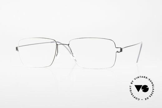 Lindberg Nikolaj Air Titan Rim Klassische Titan Herrenbrille Details