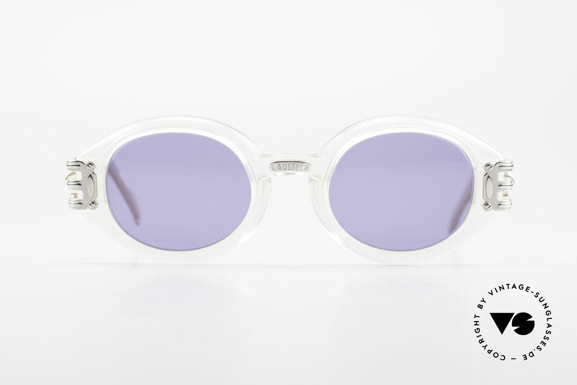 Jean Paul Gaultier 56-5203 Steampunk Designer Brille, enorm massiver / schwerer Rahmen in Top-Qualität, Passend für Herren und Damen