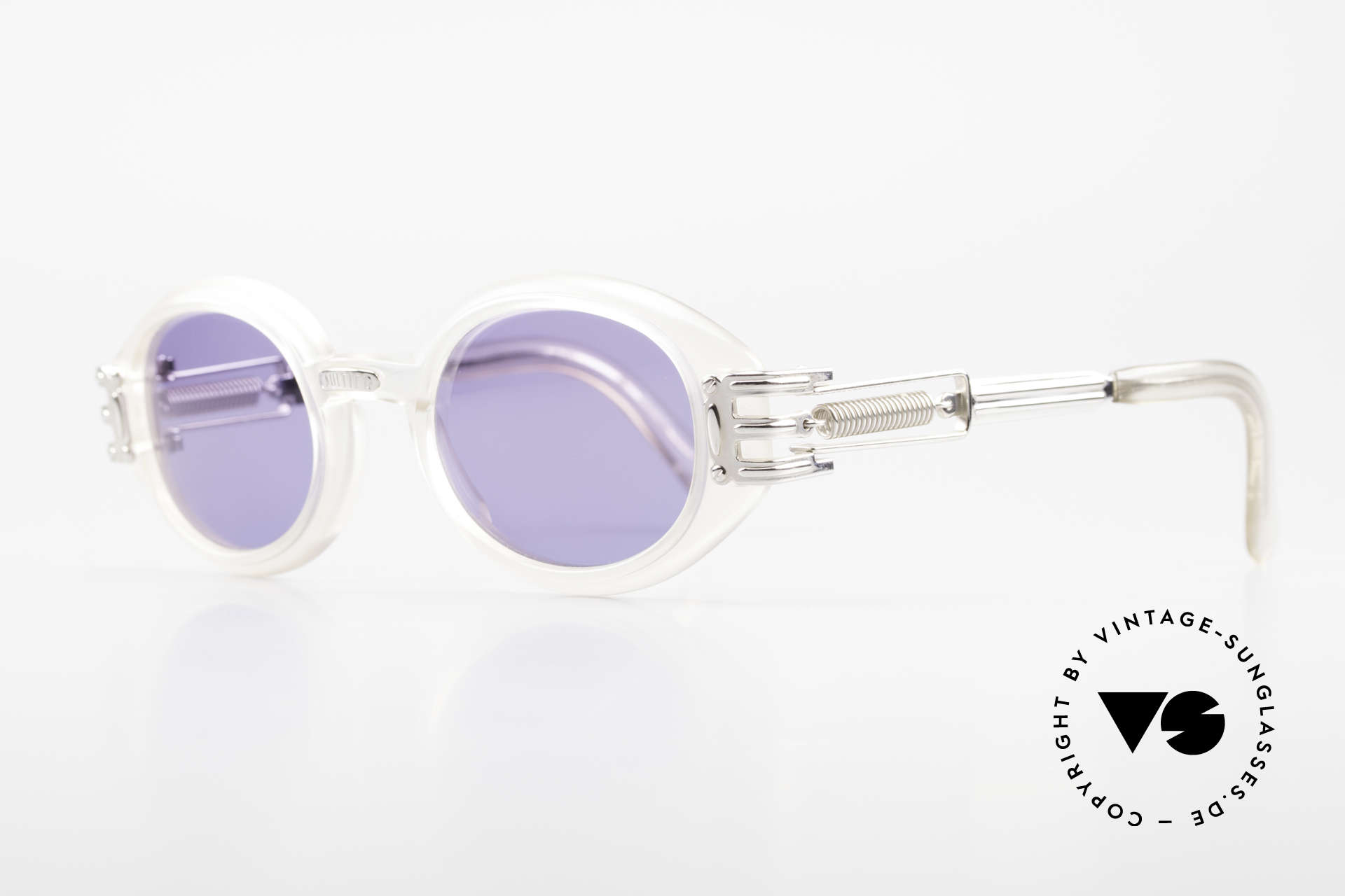 Jean Paul Gaultier 56-5203 Steampunk Designer Brille, industrial Design häufig als 'Steampunk' bezeichnet, Passend für Herren und Damen
