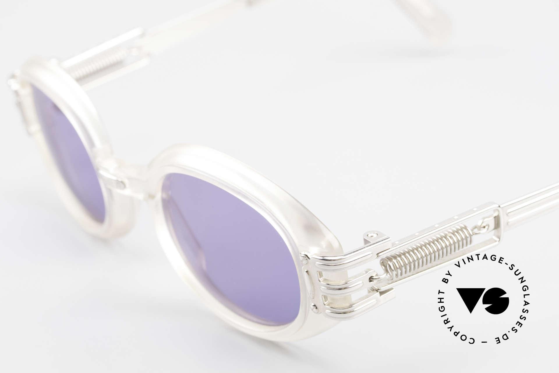 Jean Paul Gaultier 56-5203 Steampunk Designer Brille, ungetragen (wie all unsere vintage Gaultier Brillen), Passend für Herren und Damen
