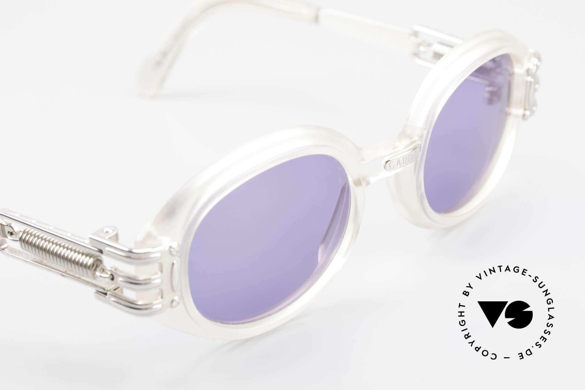 Jean Paul Gaultier 56-5203 Steampunk Designer Brille, KEINE RETROBRILLE; ein altes Original von 1995/96, Passend für Herren und Damen