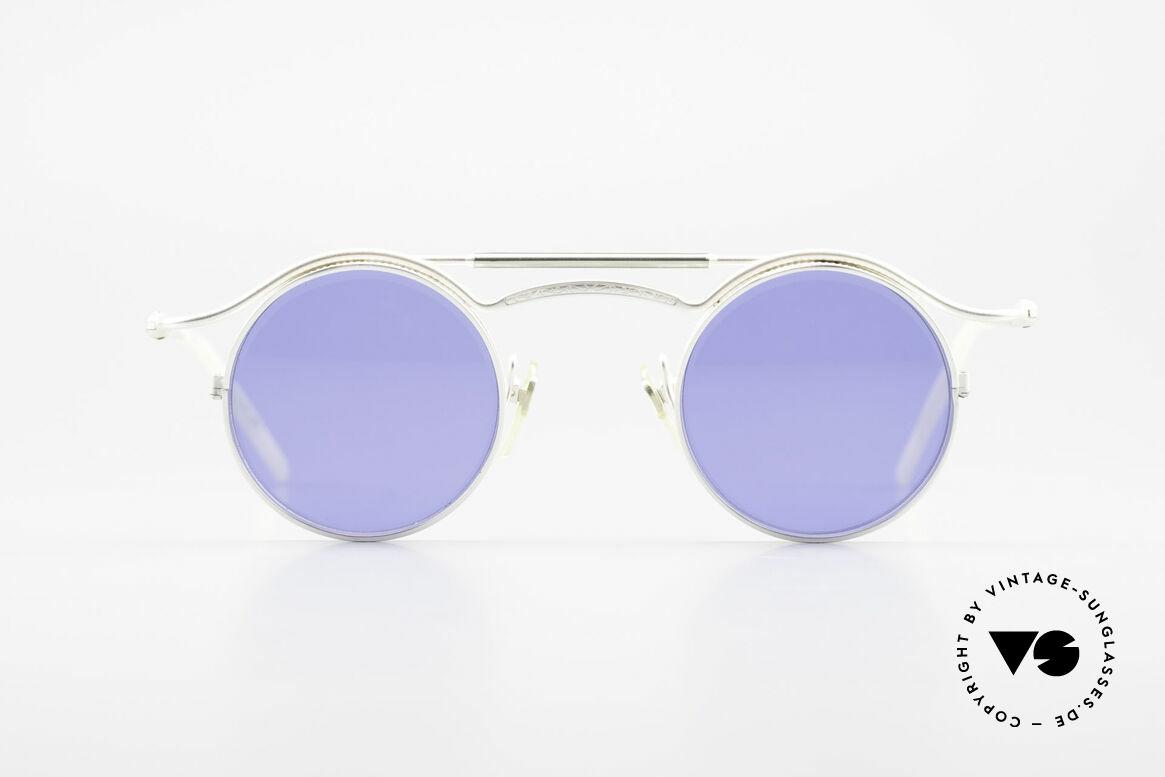 Matsuda 2903 Steampunk Sonnenbrille 90er, 'Steampunk-Sonnenbrille' der jap. 'Design-Manufaktur', Passend für Herren und Damen