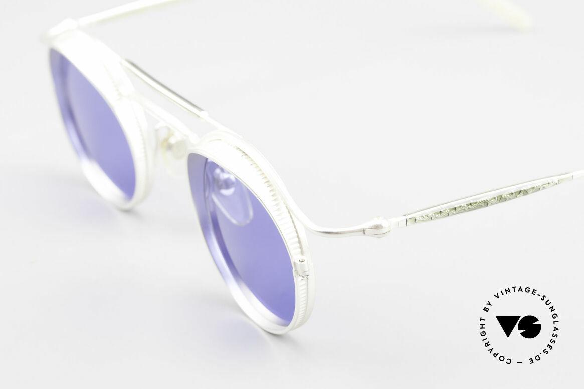 Matsuda 2903 Steampunk Sonnenbrille 90er, passend dazu trug Sarah Connor eine MATSUDA Brille, Passend für Herren und Damen