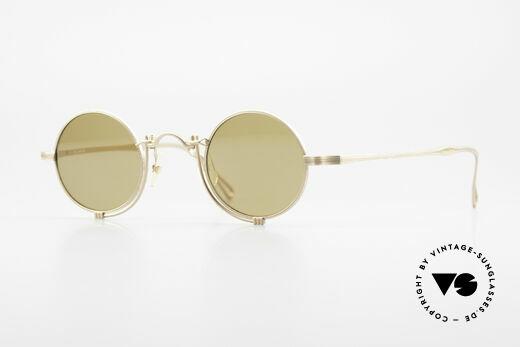 Matsuda 10601 Vintage Designer Brille Rund Details