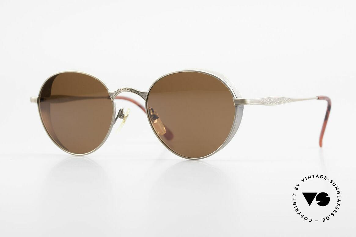 Matsuda 2829 Rare Vintage Steampunk Brille, Panto vintage Brille von Matsuda aus den frühen 90ern, Passend für Herren und Damen