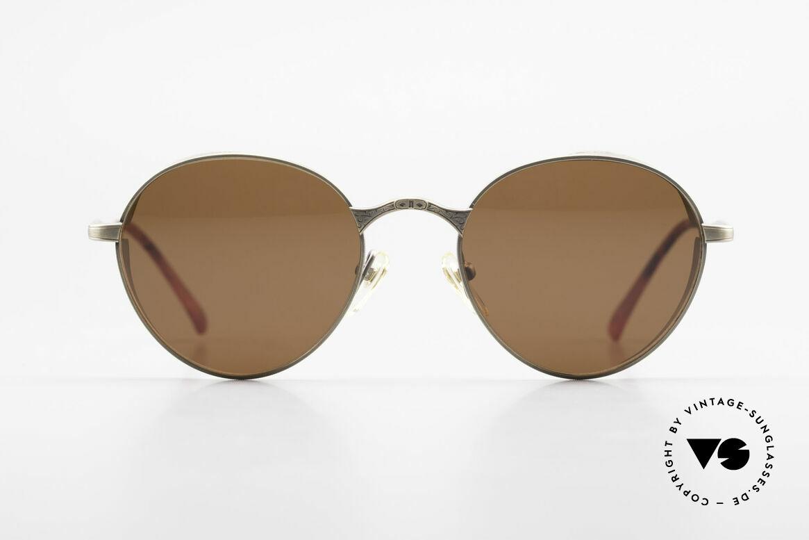 Matsuda 2829 Rare Vintage Steampunk Brille, fühlbar herausragende Top-Qualität aller Komponenten, Passend für Herren und Damen