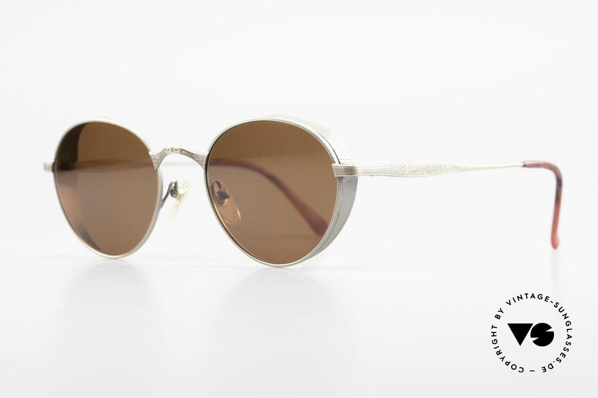 Matsuda 2829 Rare Vintage Steampunk Brille, Rahmen mit viel Liebe zum Detail; aufwändige Gravuren, Passend für Herren und Damen