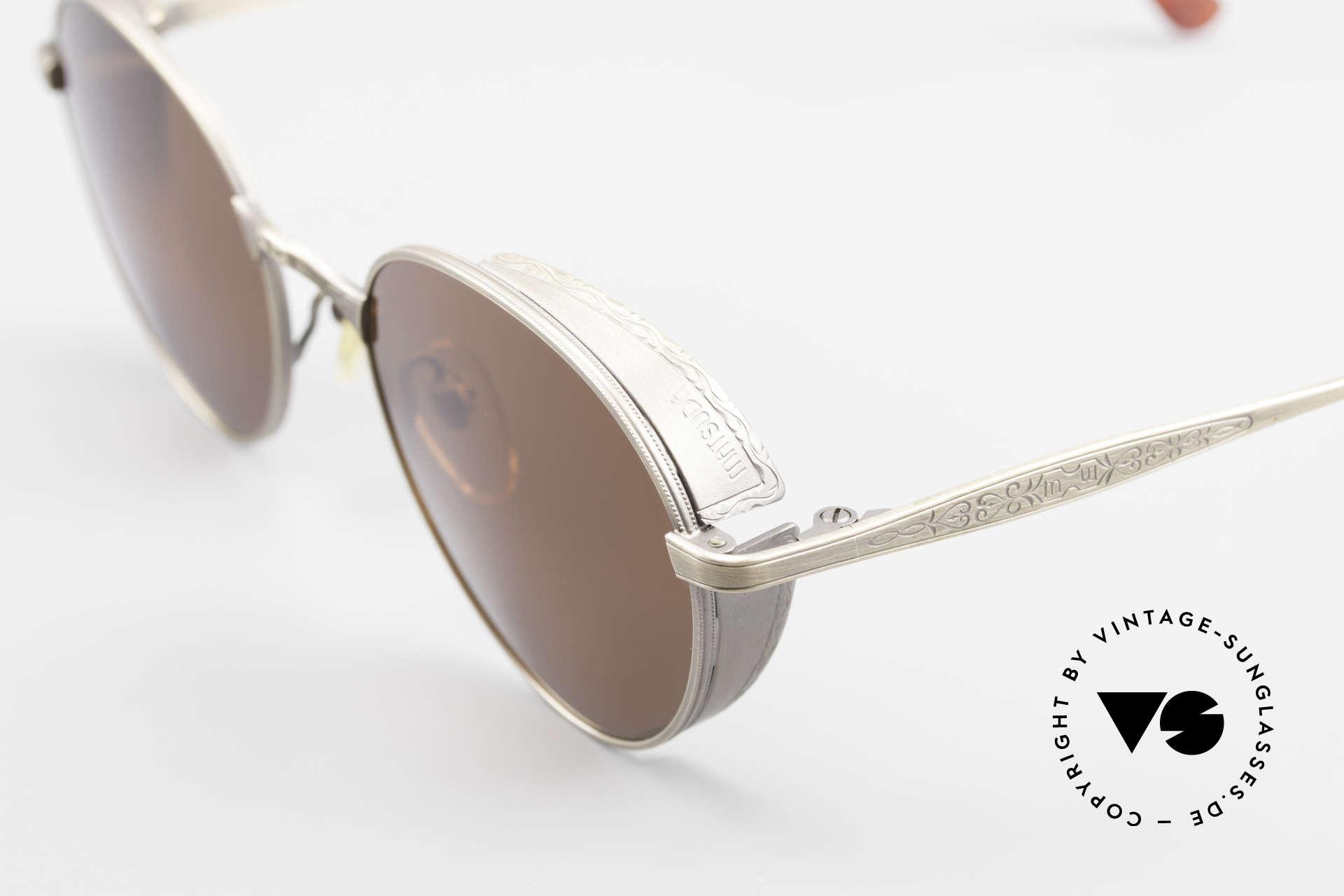 Matsuda 2829 Rare Vintage Steampunk Brille, wahre Handwerkskunst (made in Japan), die Zeit kostet, Passend für Herren und Damen