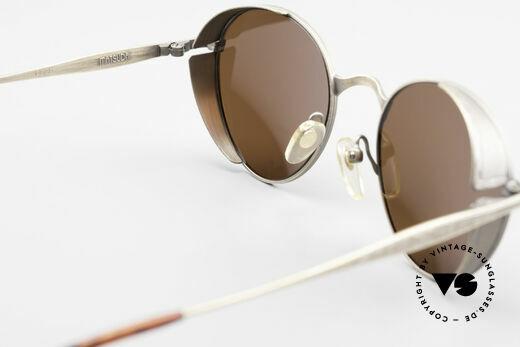 Matsuda 2829 Rare Vintage Steampunk Brille, Größe: medium, Passend für Herren und Damen