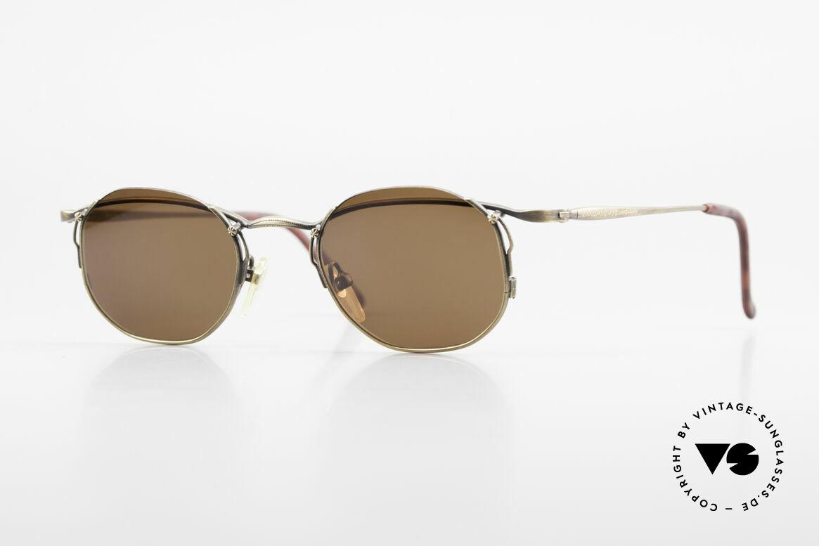 Matsuda 2856 Rare Vintage Sonnenbrille, vintage Matsuda Sonnenbrille aus den 1990ern, Passend für Herren und Damen