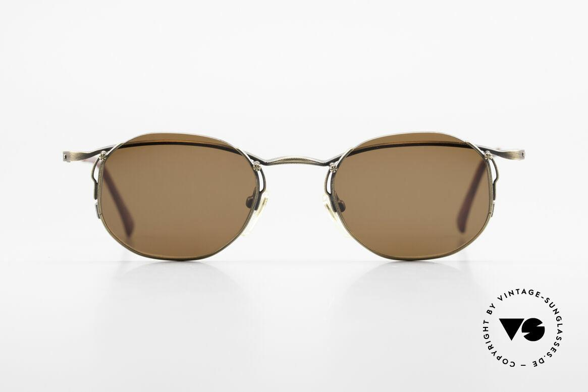 Matsuda 2856 Rare Vintage Sonnenbrille, wirklich außergewöhnliche Rahmenkonstruktion, Passend für Herren und Damen
