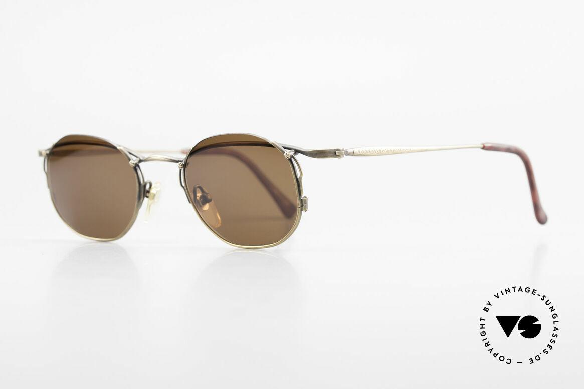 """Matsuda 2856 Rare Vintage Sonnenbrille, die Sonnengläser sind """"halb-randlos"""" eingefasst, Passend für Herren und Damen"""