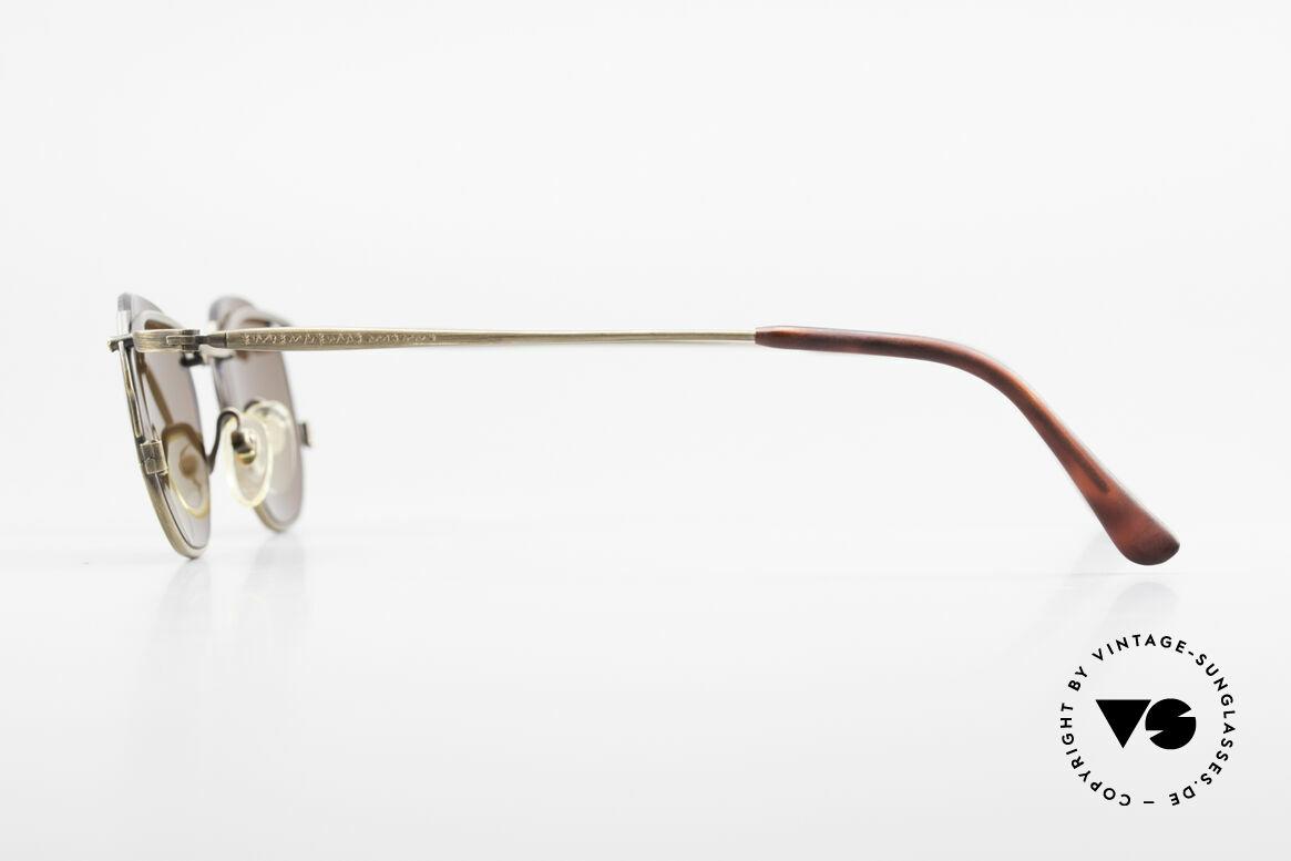 Matsuda 2856 Rare Vintage Sonnenbrille, zudem zahlreiche Gravuren (typisch für Matsuda), Passend für Herren und Damen