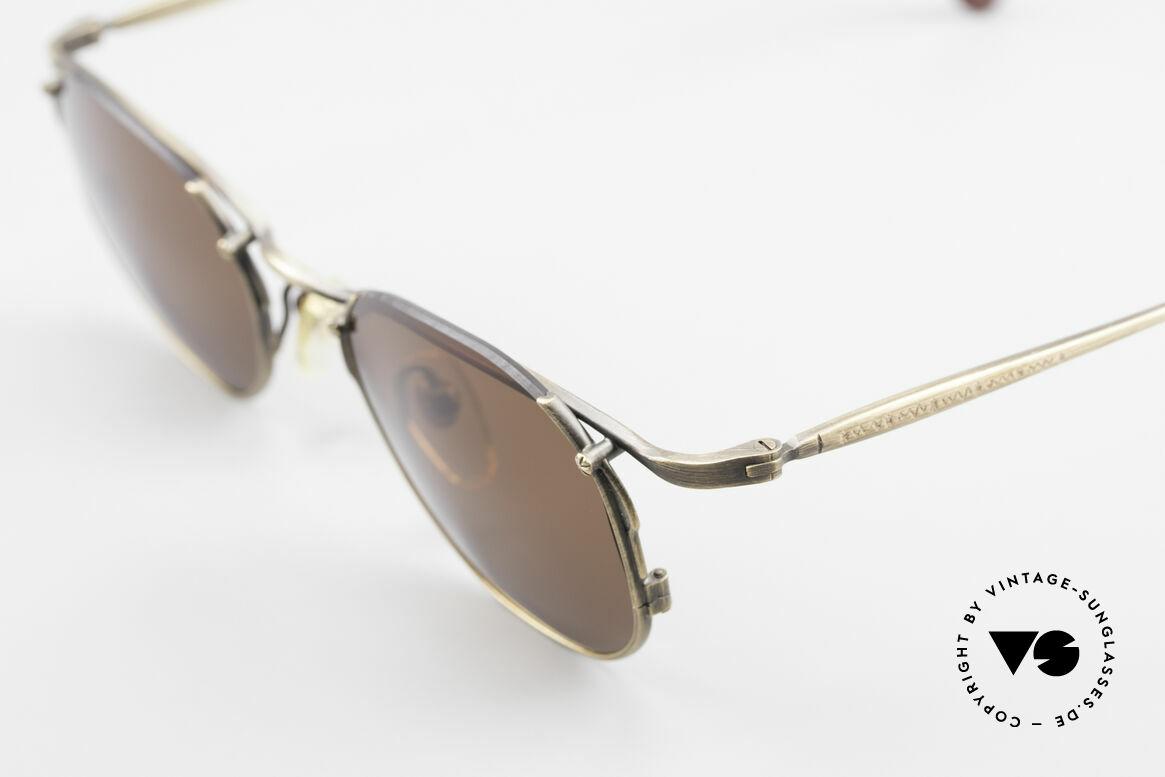 Matsuda 2856 Rare Vintage Sonnenbrille, seltenes, 20 Jahre altes Einzelstück, KEIN RETRO, Passend für Herren und Damen