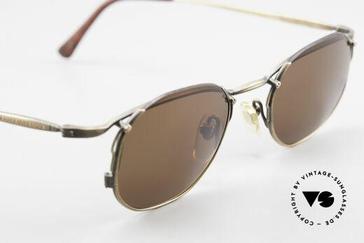 Matsuda 2856 Rare Vintage Sonnenbrille, Sonnengläser können beliebig getauscht werden, Passend für Herren und Damen