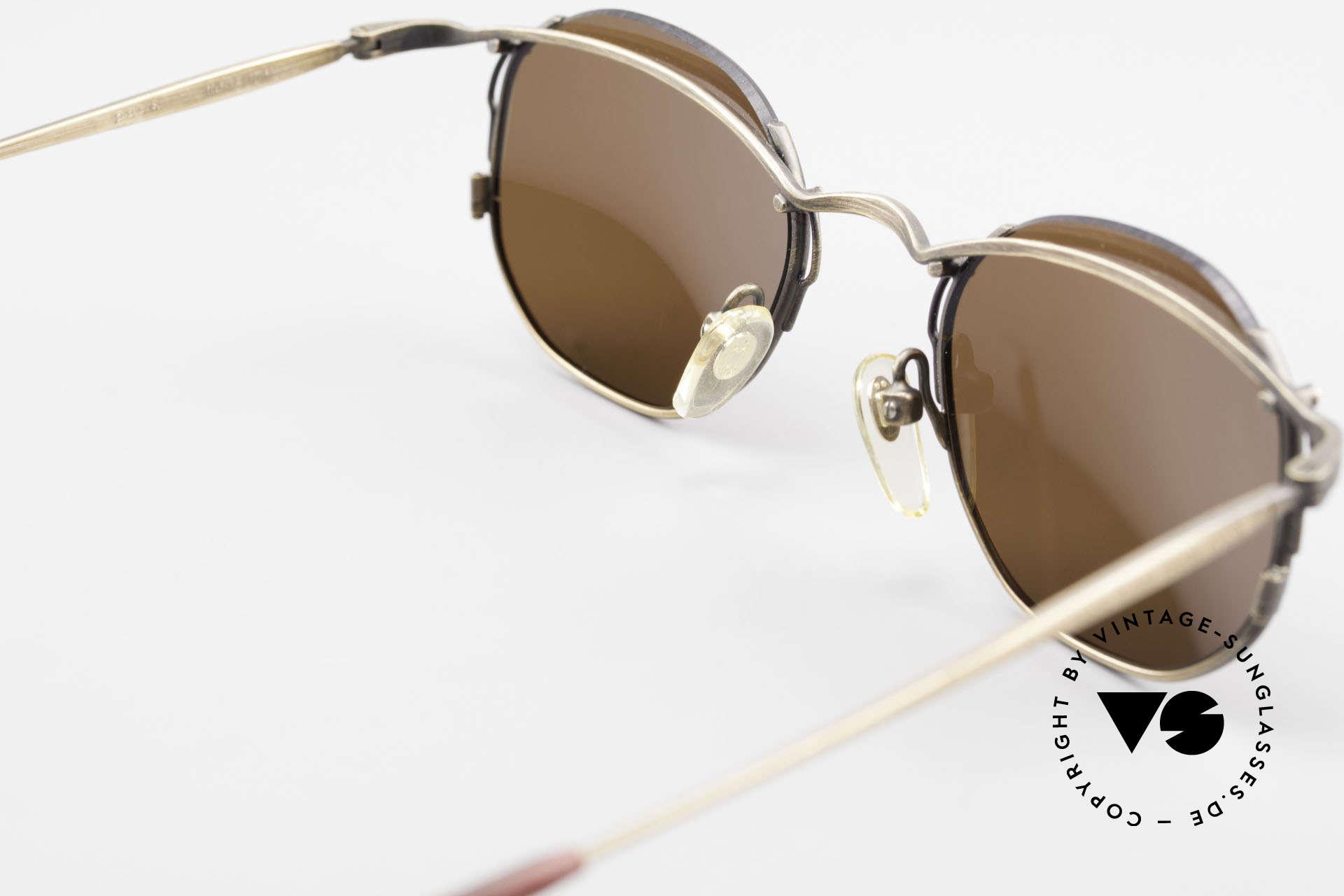 Matsuda 2856 Rare Vintage Sonnenbrille, Größe: medium, Passend für Herren und Damen