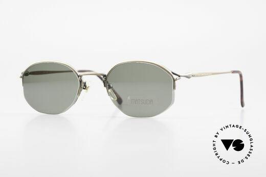 Matsuda 2855 Vintage Sonnenbrille Nylor Details