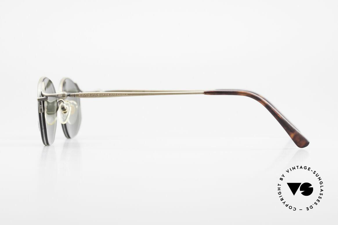 Matsuda 2855 Vintage Sonnenbrille Nylor, zudem zahlreiche Gravuren (typisch für Matsuda), Passend für Herren und Damen