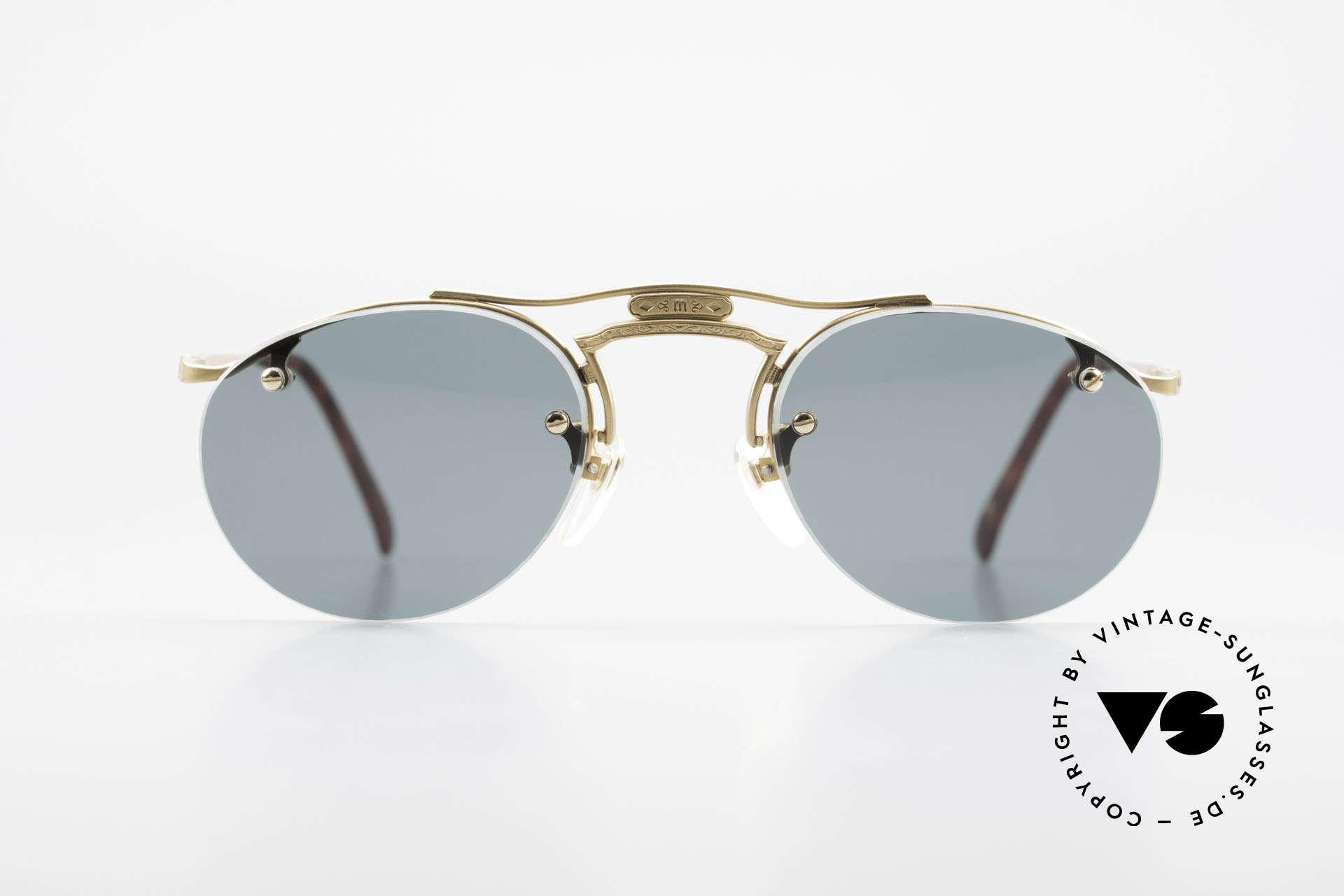Matsuda 2823 Small Aviator Stil Brille 90er, allerhöchstes Fertigungsniveau sämtlicher Rahmenteile, Passend für Herren und Damen