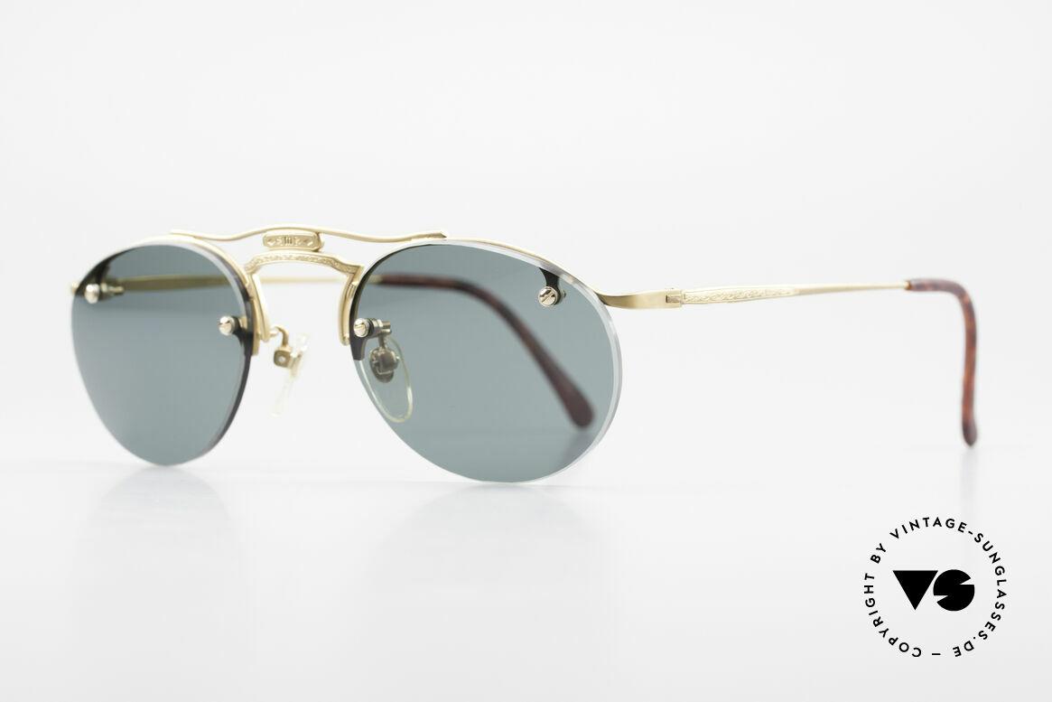 Matsuda 2823 Small Aviator Stil Brille 90er, verkörpert Lifestyle & Qualitätsanspruch gleichermaßen, Passend für Herren und Damen