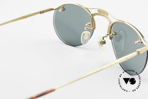 Matsuda 2823 Small Aviator Stil Brille 90er, Größe: small, Passend für Herren und Damen