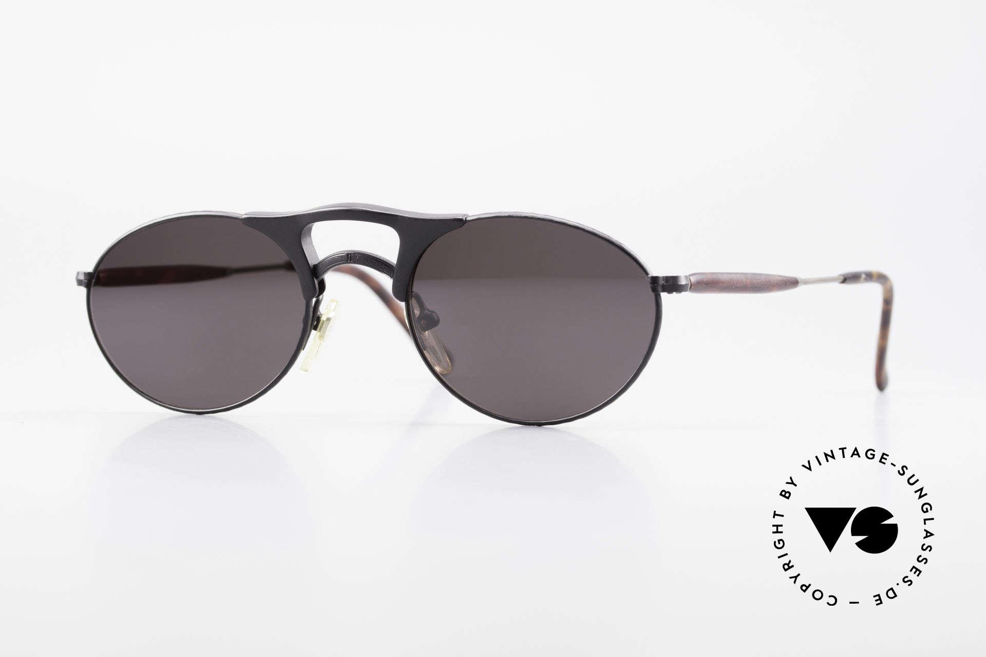 Matsuda 2820 Small Aviator Style Brille 90er, vintage MATSUDA Sonnenbrille in kleiner Aviator-Form, Passend für Herren und Damen