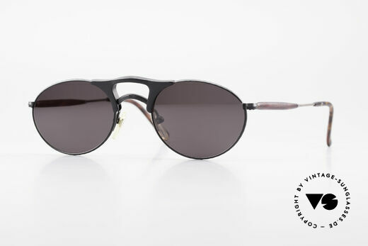 Matsuda 2820 Small Aviator Style Brille 90er Details