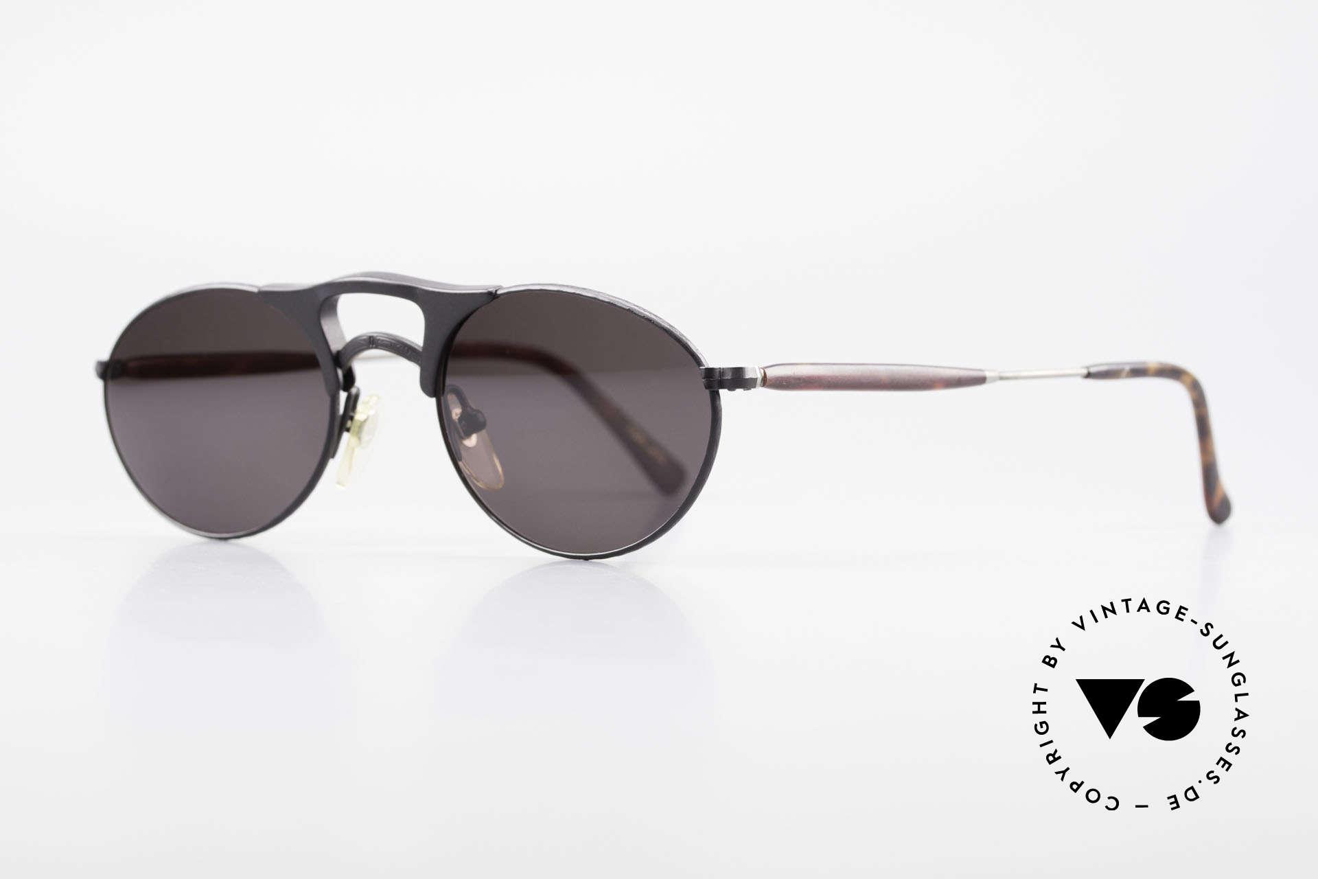 Matsuda 2820 Small Aviator Style Brille 90er, verkörpert Lifestyle & Qualitätsanspruch gleichermaßen, Passend für Herren und Damen