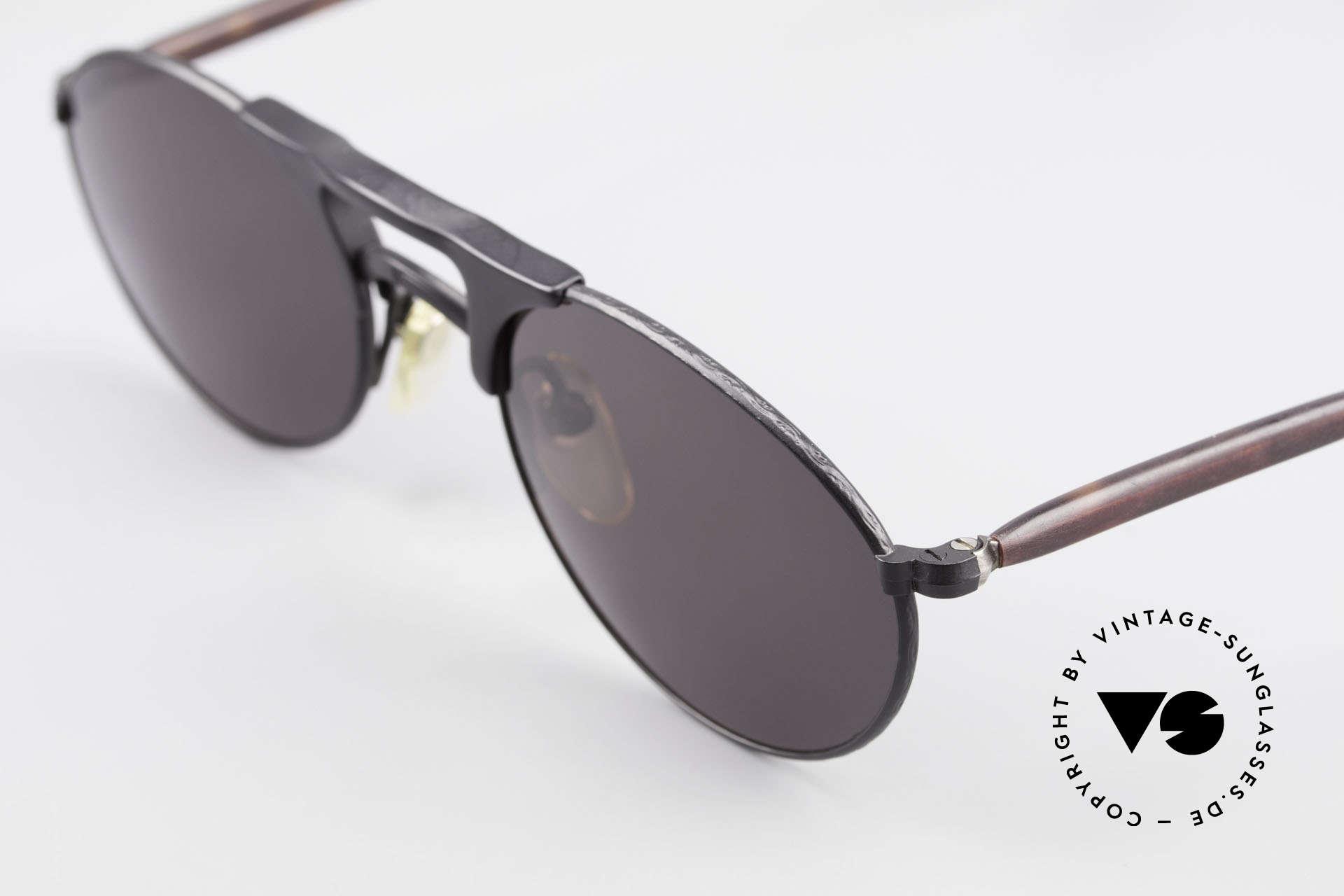 Matsuda 2820 Small Aviator Style Brille 90er, ungetragenes EINZELSTÜCK für alle 'vintage' Liebhaber!, Passend für Herren und Damen