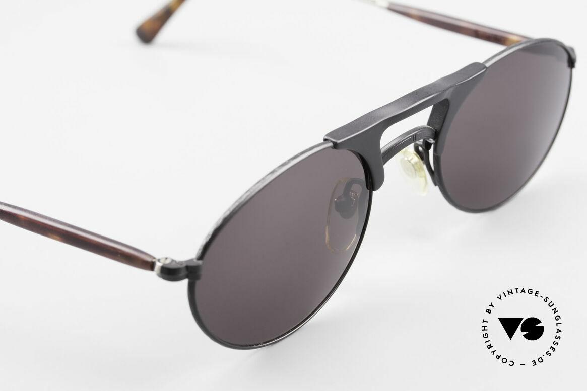 Matsuda 2820 Small Aviator Style Brille 90er, KEINE RETROmode, sondern ein 25 Jahre altes ORIGINAL, Passend für Herren und Damen