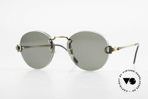 Gucci 2223 Runde Sonnenbrille Randlos Details