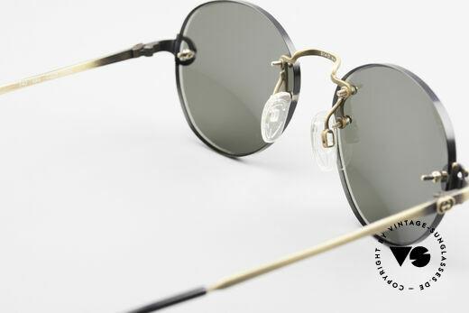 Gucci 2223 Runde Sonnenbrille Randlos, Größe: medium, Passend für Herren und Damen