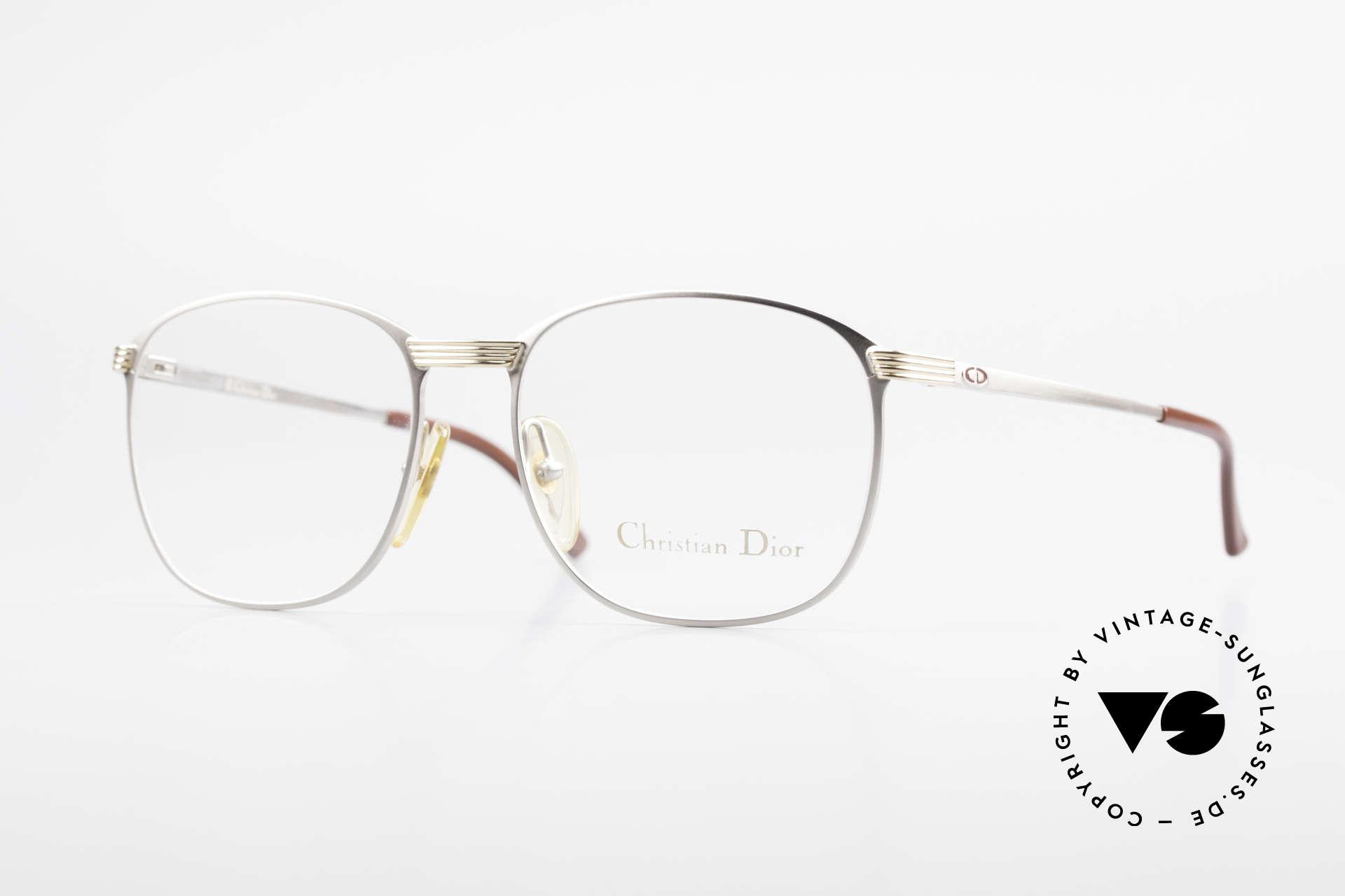 Christian Dior 2721 80er Titanium Fassung Herren, klassische vintage Brillenfassung von Christian Dior, Passend für Herren