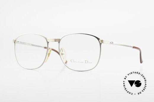 Christian Dior 2721 80er Titanium Fassung Herren Details