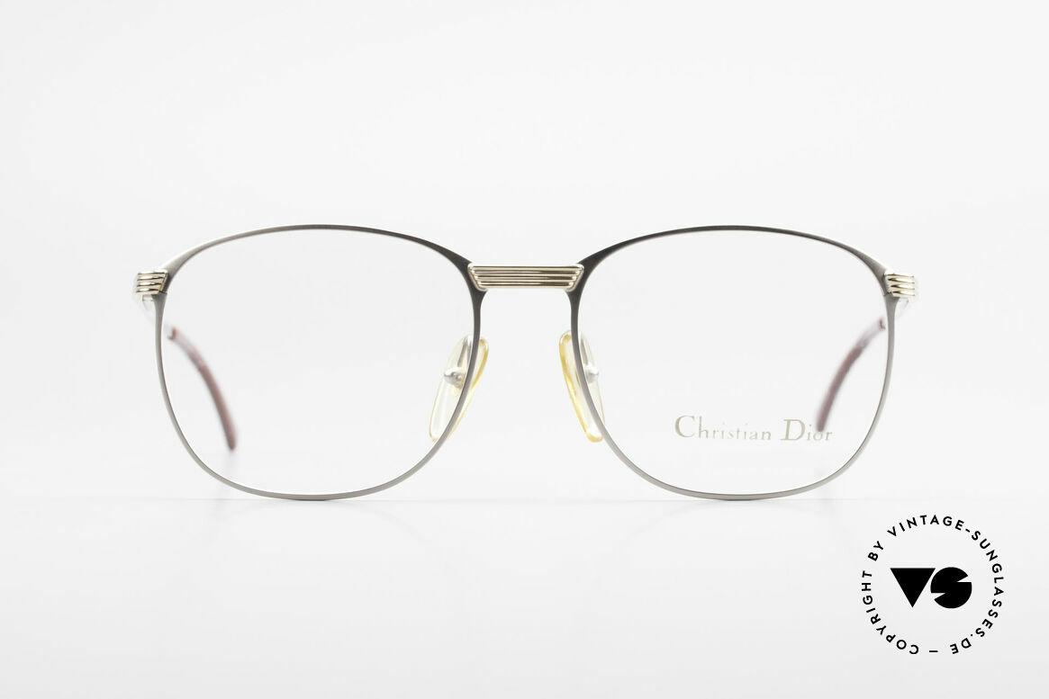 Christian Dior 2721 80er Titanium Fassung Herren, sehr edel & absolute Top-Qualität (muss man fühlen!), Passend für Herren